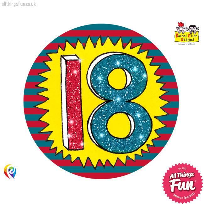 Pioneer Balloon Company Fliter Badge - Age 18 Wow