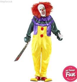 Smiffys Classic Horror Clown Costume