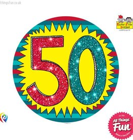 Pioneer Balloon Company Fliter Badge - Age 50 Wow