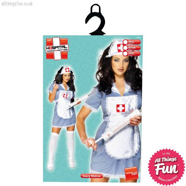 ... Smiffys Nurse Naughty Costume  sc 1 st  Things Fun - Balloons u0026 Fancy Dress - Peterlee & Smiffys Nurse Naughty Costume - All Things Fun - Balloons u0026 Fancy Dress