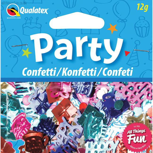 Pioneer Balloon Company Confetti - Happy Birthday Multi-Coloured
