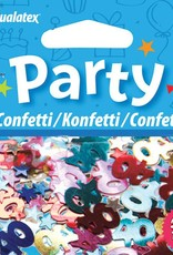 Pioneer Balloon Company Confetti - Age 40 Multi-Coloured Birthday