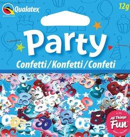 Pioneer Balloon Company Confetti - Age 50 Multi-Coloured Birthday