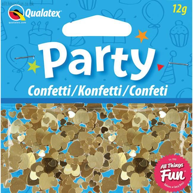 Pioneer Balloon Company Confetti - Gold Hearts