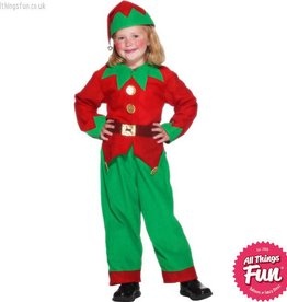 Smiffys Child Elf Costume