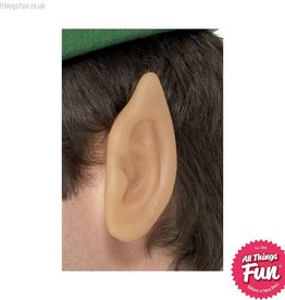 Smiffys Soft Vinyl Pointed Elf Ears Flesh Coloured