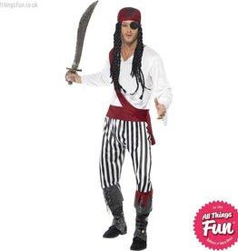 Smiffys Pirate Man Costume