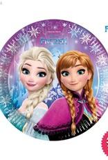 Procos Disney Frozen - Party Paper Plates (23cm) 8Ct