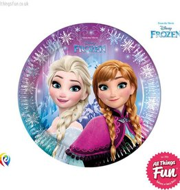 Procos Disney Frozen - Party Paper Plates (23cm) 8Ct