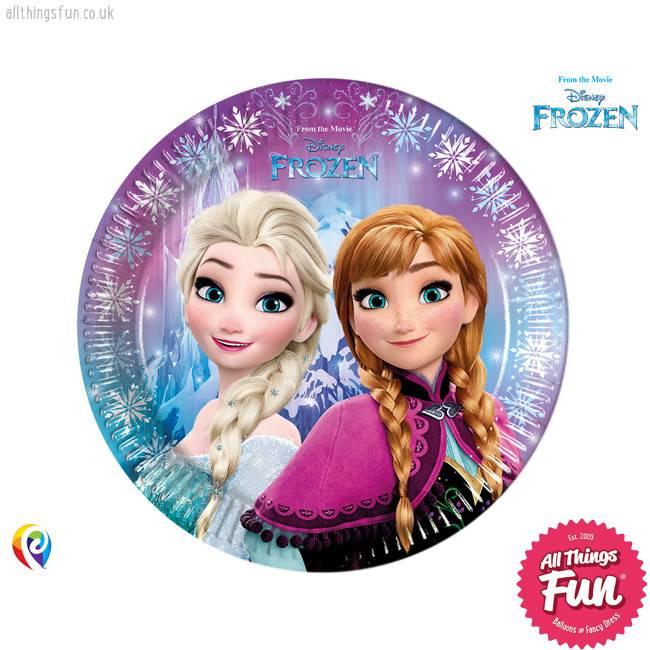 Procos Disney Frozen - Party Paper Plates 8Ct