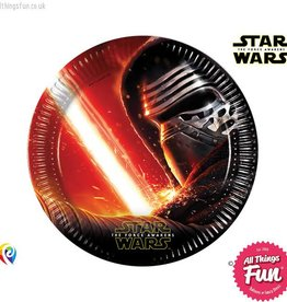 Procos Star Wars The Force Awakens - Party Paper Plates 8Ct