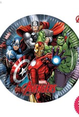 Procos Avengers Power - Party Paper Plates 8Ct
