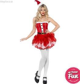 Smiffys *DISC* Santa Tutu Dress