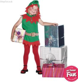Smiffys *DISC* Elf Toddler Costume