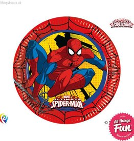 Procos Ultimate Spiderman - Party Paper Plates 8Ct