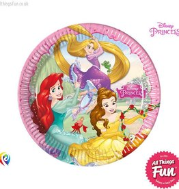 Procos Disney Princess - Party Paper Plates 8Ct