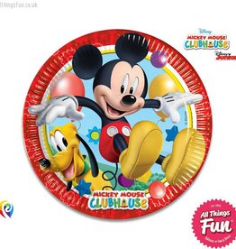 Procos Playful Mickey - Party Paper Plates 8Ct