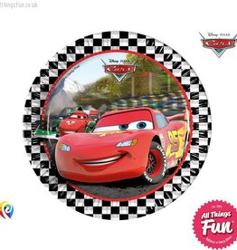 Procos Disney Cars - Party Paper Plates 8Ct