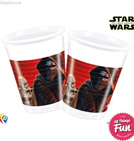 Procos Star Wars The Force Awakens - Party Plastic Cups 8Ct