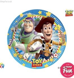Procos Toy Story Star Power - Party Paper Plates 8Ct