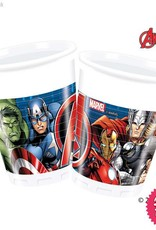 Procos *DISC* Avengers Power - Party Plastic Cups 8Ct