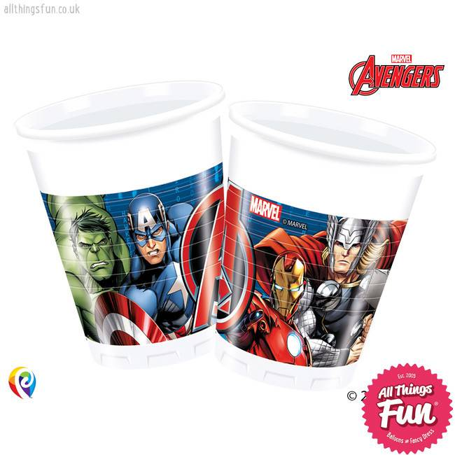 Procos Avengers Power - Party Plastic Cups 8Ct