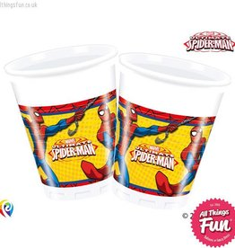 Procos Ultimate Spiderman - Party Plastic Cups 8Ct
