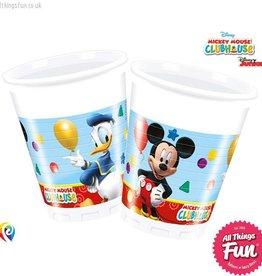 Procos Playful Mickey - Party Plastic Cups 8Ct