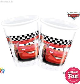 Procos Disney Cars - Party Plastic Cups 8Ct
