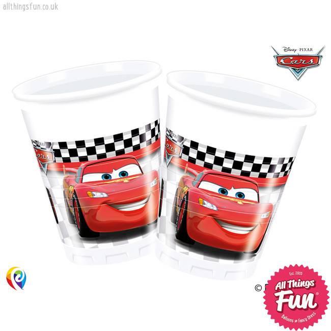 Procos Disney Cars - Party Plastic Cups 8Ct
