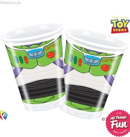 Procos *DISC* Toy Story Star Power - Party Plastic Cups 8Ct