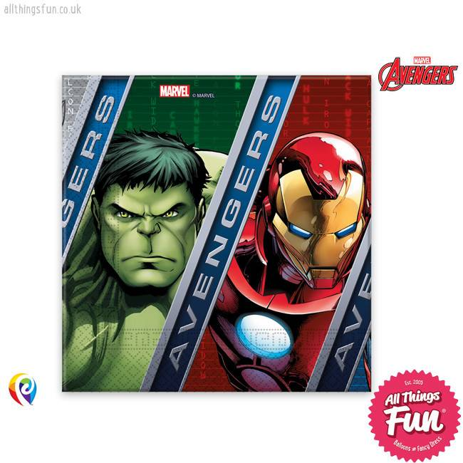 Procos Avengers Power - Party Napkins 20Ct