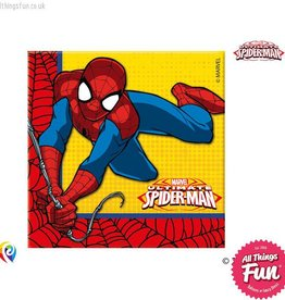 Procos Ultimate Spiderman - Party Napkins 20Ct