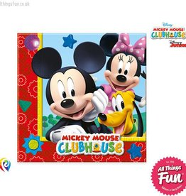 Procos Playful Mickey - Party Napkins 20Ct