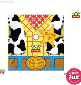 Procos *DISC* Toy Story Star Power - Party Napkins 20Ct