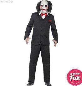 Smiffys Saw Male Jigsaw Costume