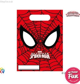 Procos Ultimate Spiderman - Party Bags 6Ct