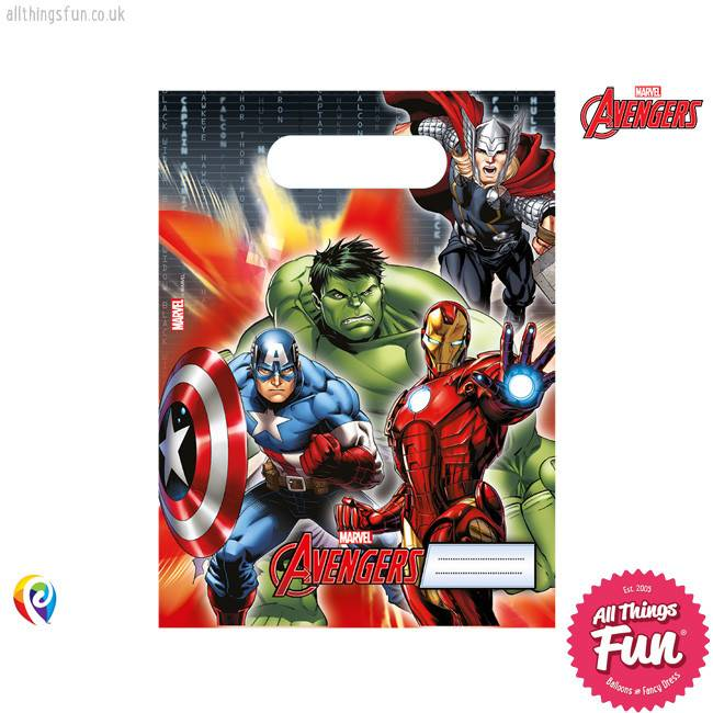 Procos Avengers Power - Party Bags 6Ct