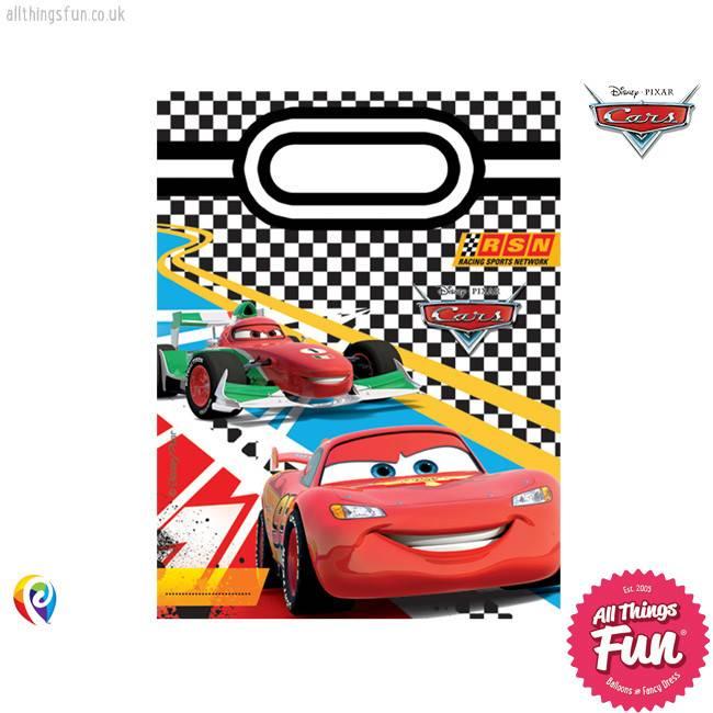 Procos *DISC* Disney Cars - Party Bags 6Ct
