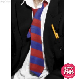 Smiffys Red & Blue School Tie