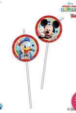 Procos Playful Mickey - Drinking Straws 6Ct