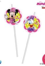 Procos Disney Minnie - Drinking Straws 6Ct