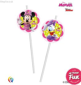 Procos Disney Minnie Mouse - Drinking Straws 6Ct