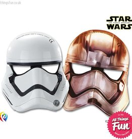 Procos *DISC* Star Wars The Force Awakens - Party Masks 6Ct