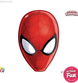 Procos Ultimate Spiderman - Party Masks 6Ct