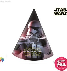 Procos Star Wars The Force Awakens - Party Hats 6Ct