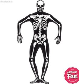 Smiffys Adult Skeleton Second Skin Costume