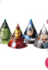 Procos Avengers Power - Party Hats 6Ct