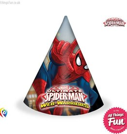 Procos Ultimate Spiderman - Party Hats 6Ct