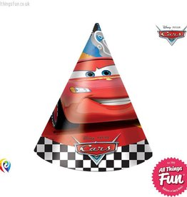 Procos Disney Cars - Party Hats 6Ct